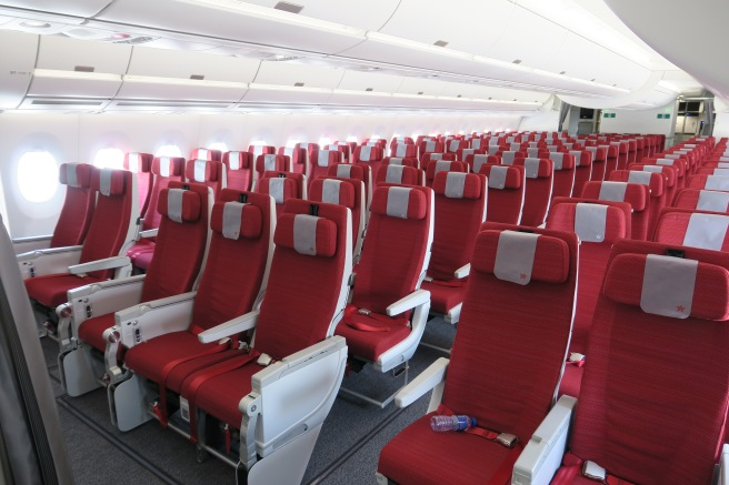 Up Close With Hong Kong Airlines New A350 Economy Seat